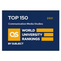 QS ranking communication and media
