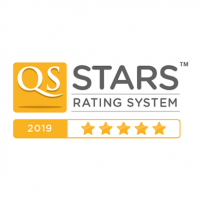 QS 5 stars rating for Online 2019