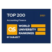 QS Ranking - Accounting and Finance