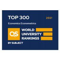 QS Ranking - Economics and Econometrics