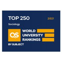 QS ranking sociology